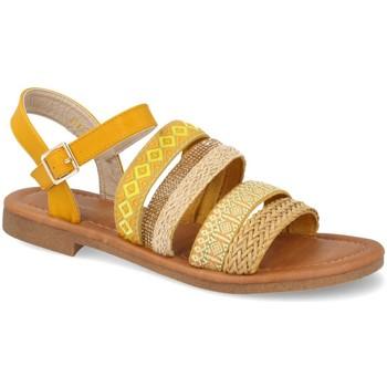 Sapatos Mulher Sandálias Ainy N961 Amarillo
