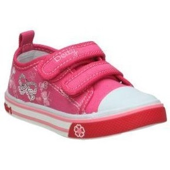 Sapatos Criança Sapatilhas Katini Lonas  dtj6411-fy. menina rosa Rose