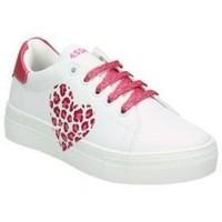 Sapatos Criança Sapatilhas Asso AG550-851 blanc
