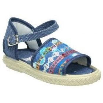 Sapatos Criança Sapatilhas de ténis Vulca-bicha Lonas  833 menina azul bleu