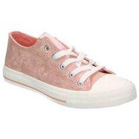 Sapatos Criança Sapatilhas de ténis Chika 10 Lonas chk10 city kids 05 menina rosa rose