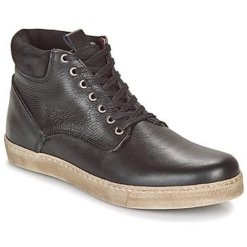 Sapatos Homem Botas baixas Casual Attitude LEO Preto