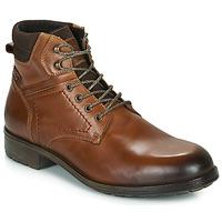 Sapatos Homem Botas baixas Casual Attitude LULLY Conhaque