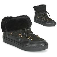 Sapatos Mulher Botas baixas Casual Attitude LONE Preto