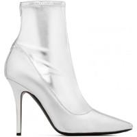 Sapatos Mulher Botas Giuseppe Zanotti I870030 001 argento