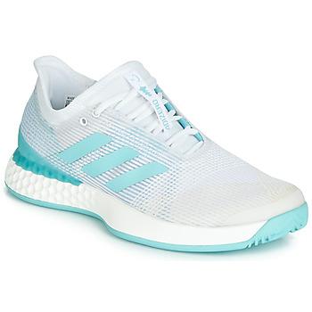 Sapatos Mulher Sapatilhas de corrida adidas Performance ADIZERO UBERSONIC 3M X PARLEY Branco / Azul