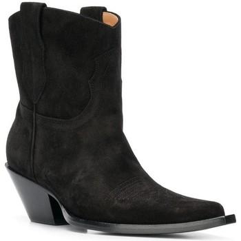 Sapatos Mulher Botas Maison Margiela S58WU0221 PR047 nero