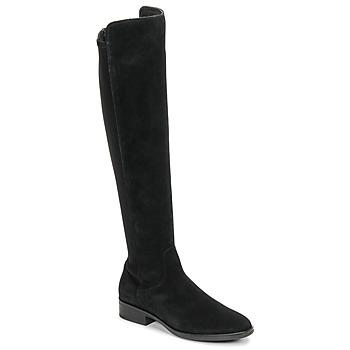Sapatos Mulher Botas altas Clarks PURE CADDY Preto