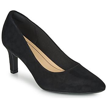 Sapatos Mulher Escarpim Clarks CALLA ROSE Preto