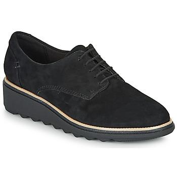 Sapatos Mulher Sapatos Clarks SHARON NOEL Preto