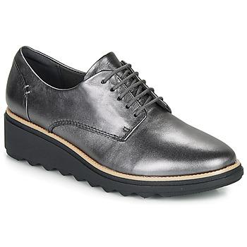Sapatos Mulher Sapatos Clarks SHARON NOEL Prateado