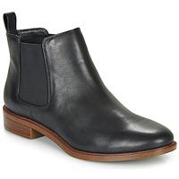 Sapatos Mulher Botas baixas Clarks TAYLOR SHINE Preto