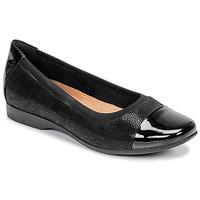 Sapatos Mulher Sabrinas Clarks UN DARCEY CAP Preto