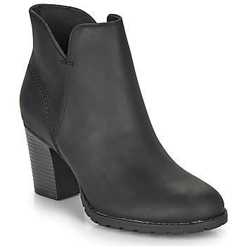 Sapatos Mulher Botins Clarks VERONA TRISH Preto