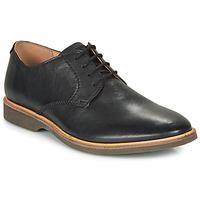 Sapatos Homem Sapatos Clarks ATTICUS LACE Preto