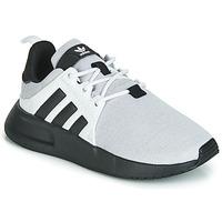 Sapatos Criança Sapatilhas adidas Originals X_PLR C Cinza / Preto