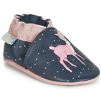 Sapatos Rapariga Pantufas bebé Robeez LITTLE FAWN Marinho / Rosa