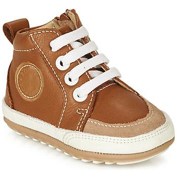 Sapatos Criança Botas baixas Robeez MIGO Conhaque