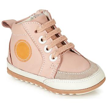 Sapatos Rapariga Sapatilhas de cano-alto Robeez MIGO Rosa