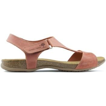 Sapatos Mulher Sandálias Interbios SANDÁLIAS ANATÔMICAS INTERMEDIÁRIAS 4420 TEJA