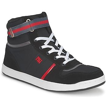 Sapatos Mulher Sapatilhas de cano-alto Dorotennis BASKET NYLON ATTACHE Preto