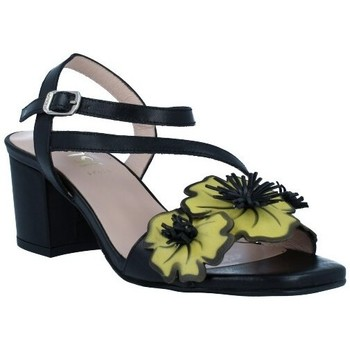 Sapatos Mulher Sandálias Dansi 1260 Sandalias con Tacón de Mujer preto