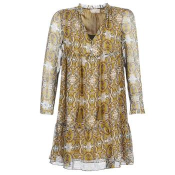 Textil Mulher Vestidos curtos Moony Mood LONI Amarelo