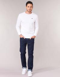 Textil Homem Calças Jeans Levi's 514 STRAIGHT Azul