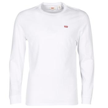 Textil Homem T-Shirt mangas curtas Levi's LS ORIGINAL HM TEE Branco