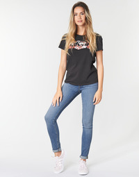 Textil Mulher Gangas Skinny Levi's 721 HIGH RISE SKINNY Sol