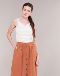 Textil Mulher Tops / Blusas Betty London KATACEL Branco / Dourado