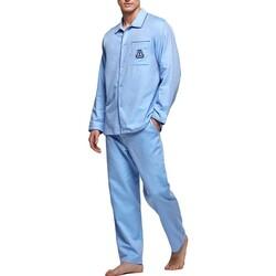 Textil Homem Pijamas / Camisas de dormir Impetus 1563309 789 Azul