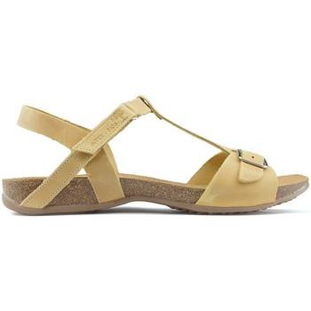 Sapatos Mulher Sandálias Interbios SANDÁLIAS DE  AFRODITE MOSTARDA