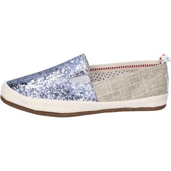 Sapatos Mulher Slip on O-joo BR132 Prata