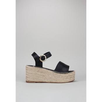 Sapatos Mulher Alpargatas Senses & Shoes FABIOLA Preto