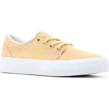 Sapatos Criança Sapatilhas de ténis DC Shoes Trase TX Amarelo
