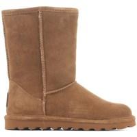 Sapatos Mulher Botas de neve Bearpaw II Elle Castanho