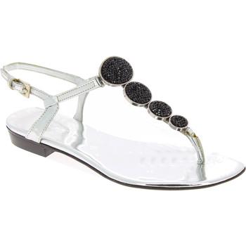 Sapatos Mulher Sandálias Barbara Bui J5407 SPJ 8010 argento