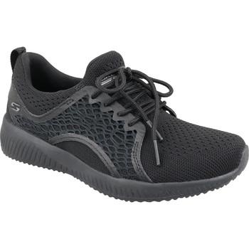Sapatos Mulher Sapatilhas Skechers Bobs Squad 32507-BBK