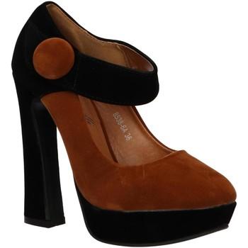 Sapatos Mulher Escarpim Milanelli 8538-6A Marr?n