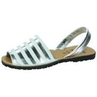 Sapatos Mulher Sandálias Avarca Cayetano Ortuño  Prata