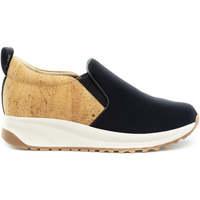 Sapatos Mulher Slip on Nae Vegan Shoes Veka NeoCork preto