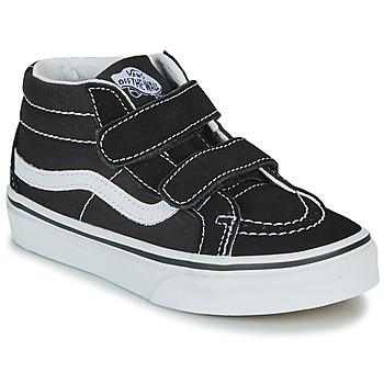 Sapatos Criança Sapatilhas de cano-alto Vans UY SK8-MID REISSUE V Preto / Branco