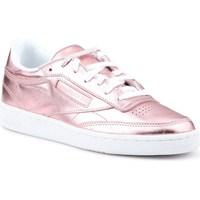 Sapatos Mulher Sapatilhas Reebok Sport Club C 85 S Shine Cor-de-rosa