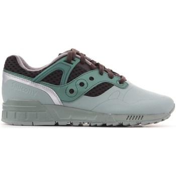 Sapatos Homem Sapatilhas Saucony Grid Verde, Castanho