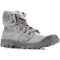 Sapatos Homem Sapatilhas de cano-alto Palladium Manufacture Baggy Titanium High Rise Cinzento