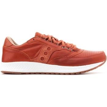 Sapatos Homem Sapatilhas de corrida Saucony Freedom Runner Castanho