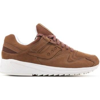 Sapatos Homem Sapatilhas Saucony Grid 8500 HT Castanho