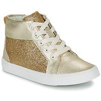 Sapatos Rapariga Sapatilhas de cano-alto Clarks CITY OASISHI K Ouro