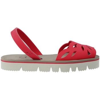 Sapatos Mulher Sandálias Mykai Avarcas MyKai Nur Sandalias Avarcas Casual de Mujer vermelho